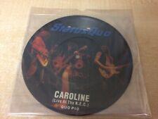 """Status Quo - Caroline 7"""" Picture Disc Vinyl Record (1982)"""