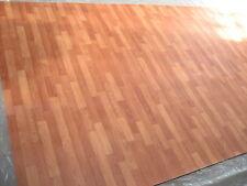 6568 PVC CV Belag Rest 499x204 Boden Bodenbelag robust kirsche rötl. Holz-Dekor