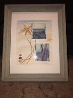 Jane Wolfgang Signed Art Polaroid Transfer Real Starfish Ocean