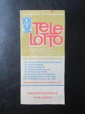 Lotto Sonderziehung