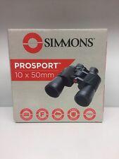 New Simmons ProSport 10x50mm Porro Binoculars w/ Accessories 899890