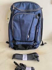 """ebags Mother Lode tls Weekender Convertible backpack luggage NEW W/Tags 22"""" Blue"""