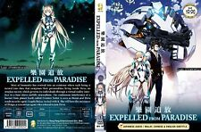 ANIME DVD~Expelled From Paradise~English subtitle&All region+FREE GIFT