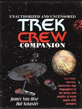 1994 UNAUTHORIZED STAR TREK CREW COMPANION - 400 pages, 32 pages of color photos