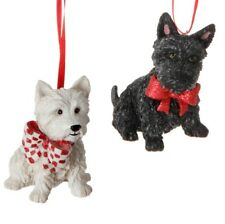 Westie & Scottie Dog Ornament
