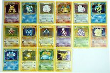 Complete 102/102 Pokemon Card Base Set VLP to Mint Condition - Charizard