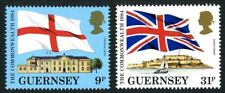 GUERNSEY 1984 COMMONWEALTH PAIR OF COMMEMORATIVE STAMPS MNH (w)
