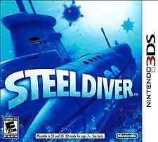 Steel Diver - Nintendo 3DS - Brand NEW SEALED - FREE SHIP