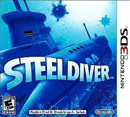 Steel Diver  (Nintendo 3DS, 2011) NEW FACTORY SEALED!