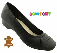Leather Wear to Work Ballet Flats for Women