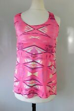 Queenie Ke Yoga Top Pink Size XS Padded Supported Bra