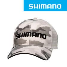 SHIMANO Smoking Trucker Fishing Cap   -White Camo (0902)