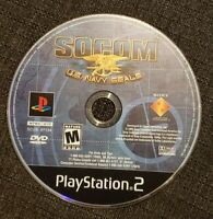 Socom Us Navy Seals PS2 Playstation 2 Game (Disc Only)