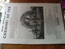 µ?. Revue Generale des Chemins de Fer RCGF 04-1949 Autorail Floirat Wagon frein
