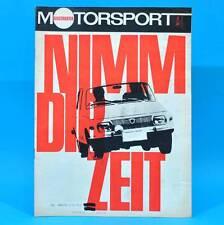 DDR Illustrierter Motorsport IMS 2/1969 Honda N 360 600 MZ ES 125/150 Motoball D