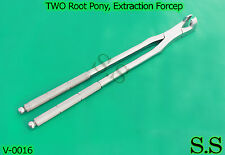 Two Root Ponyextractionforcep19handcrafted Stlsteeldentalequiness V0016