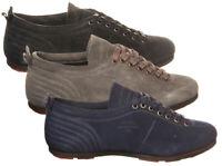 Sneakers Pantofola D'Oro Superstar low uomo in pelle Punta tonda camoscio SL18U