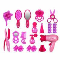 1 set Girls Fashion Hair Styling Dolls Head Play Set Kids Childs Toy Beauty Gift