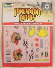 Pinewood Derby Car Dogs Peel & Stick Decals