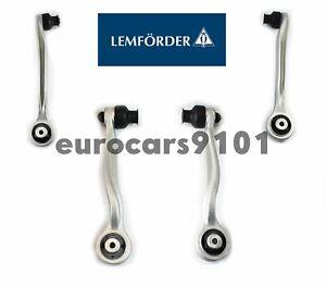 Audi A6 A6 Quattro A8 Quattro Lemforder Front Upper & Lower Control Arm Kit