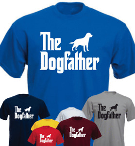 The Dogfather Labrador  Funny Gift Present T-shirt