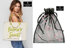 NWT Victoria's Secret Angel City Yellow Snake Tote Bag + Gift Lingerie Black Bag