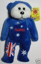 """SKANSEN BEANIE KIDS """"AUSSIE"""" THE AUSTRALIAN BEAR & MWMT"""