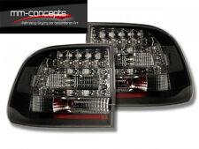 LED Rückleuchten für Porsche Cayenne S Turbo GTS Schwarz Tuning