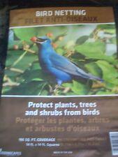 Quantity of 5 pkgs  Greenscapes Bird Netting Bird Block 14 ft. x 14 ft. NEW