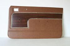HOLDEN TORANA LJ 4 DOOR SEDAN WITH WOODGRAIN INSERT REPRODUCTION DOOR TRIMS
