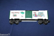 1995 Lionel 6-19939 Employee Christmas Box Car Happy Holidays L2934