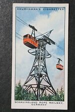 Schauinsland Rope Railway  Germany    1930's Original Vintage Card