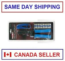 Channel Master CM 3309 Coaxial Cable Compression Connector Kit (CM3309)