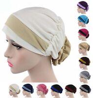 Islamic Muslim Women Scarf Hat Cotton Underscarf Cap Hijab Cover Headwrap Bonnet