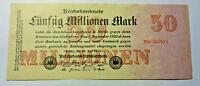 50 Millionen Mark 1923. Los 4638. schoeniger-notgeld.de