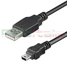Cavo 0,15m USB 2.0 A MINI B ricarica dati per PSP tablet pc hard disk corto 15cm