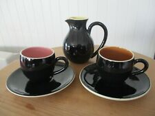 MARTIN BOYD JUG PLUS TWO CUP AND SAUCERS