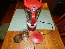 Ninja Pulse 40 oz. Blender & Processor BL208QCN Red