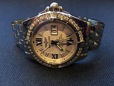 Breitling Galactic Cockpit A4935053/G654 Stainless Steel with Diamonds - NEW