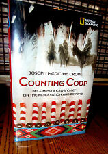 COUNTING COUP JOSEPH MEDICINE CROW BECOMING A CHIEF BEYOND RARE SIGNED 1ST ED HC