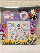 Sanrio Halloween Character Mix Nail Sticker Seal Hello kitty pompom purin melody