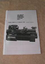 Dean, Smith & Grace Type 13 Lathe Manual