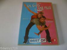 (CH7) DVD ETAT NEUF MAIS SANS BLISTER  UN GARS UNE FILLE BEST OF N°2