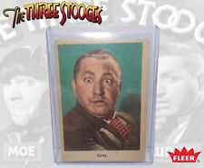 1959  Fleer The Three Stooges  Card  # 1 Curly Howard Norman Maurer Productions