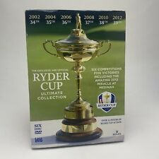 Ryder Cup - Official Ultimate Collection 2002-2012 DVD Box Set - New & Sealed