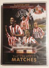 Sunderland Stadium Of Light Classics The Greatest Matches Dvd (SEALED)