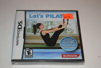 Let's Pilates Nintendo DS Video Game New Sealed
