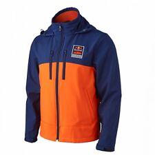 KTM Powerwear Red Bull KTM Performance Softshell Jacket Orange Blue Size MEDIUM