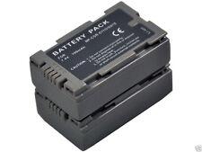New 2 piece CGP-D110 D120 VW-VBD40 Camera Battery For NV-MX5B MX7 DS8EG DS9 DS11
