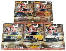 Hot Wheels Premium 2020 Car Culture Japan Historics 3 Complete Jh3 Set of 5